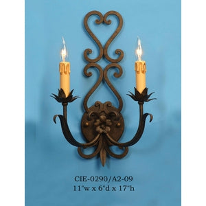 Other Metal Sconce - CIE-0290/A2-09Sconce - Graham's Lighting Memphis, TN