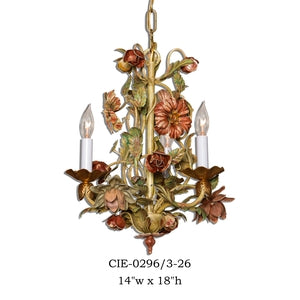 Other Metal Chandelier - CIE-0296/3-26Chandelier - Graham's Lighting Memphis, TN