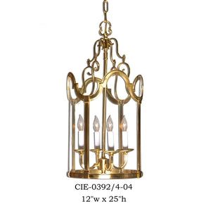 Brass Lantern and Pendant - CIE-0392/4-04Pendant - Graham's Lighting Memphis, TN