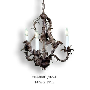 Other Metal Chandelier - CIE-0401/3-24Chandelier - Graham's Lighting Memphis, TN