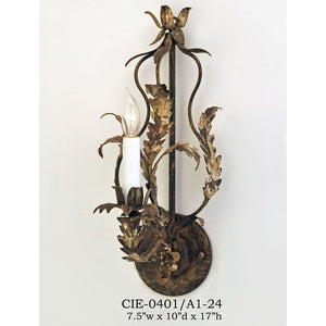 Other Metal Sconce - CIE-0401/A1-24Sconce - Graham's Lighting Memphis, TN