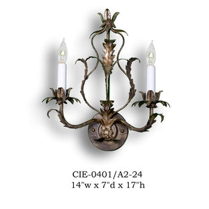 Other Metal Sconce - CIE-0401/A2-24Sconce - Graham's Lighting Memphis, TN