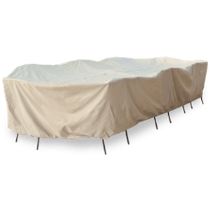 Oval/Rectangle/Square Table and Chairs - CP697Protective Furniture Covers - Graham's Lighting Memphis, TN
