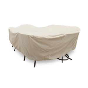 Oval/Rectangle/Square Table and Chairs - CP699Protective Furniture Covers - Graham's Lighting Memphis, TN