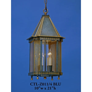 Other Metal Lantern and Pendant - CTL-Z011/4 BLUPendant - Graham's Lighting Memphis, TN