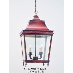 Other Metal Lantern and Pendant - CTL-Z016/4 REDPendant - Graham's Lighting Memphis, TN