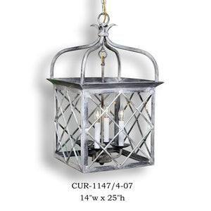 Other Metal Lantern and Pendant - CUR-1147/4-07Pendant - Graham's Lighting Memphis, TN
