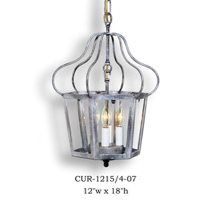 Other Metal Lantern and Pendant - CUR-1215/4-07Pendant - Graham's Lighting Memphis, TN
