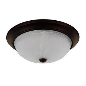 3D-219031 BZ- Ceiling 3 Light Flush Mount Ceiling FixtureCeiling Lights - Graham's Lighting Memphis, TN