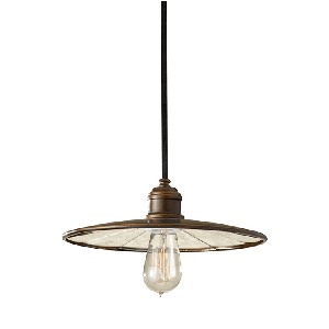 Urban Renewal - P1236ASTB 1-Light Mini PendantPendant - Graham's Lighting Memphis, TN