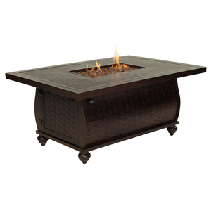 French Quarter Rectangular Fire Pit Coffee TableFire Pits - Graham's Lighting Memphis, TN