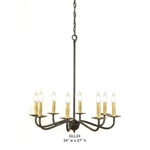 Other Metal Chandelier - GLL24Chandelier - Graham's Lighting Memphis, TN