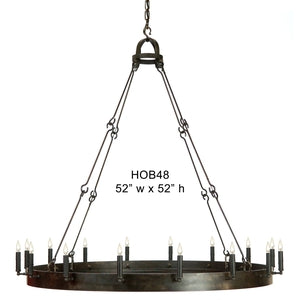 Other Metal Chandelier - HOB48Chandelier - Graham's Lighting Memphis, TN