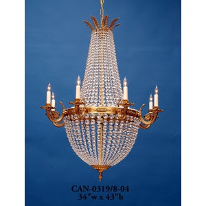 Crystal Chandelier Can 0319 8 04