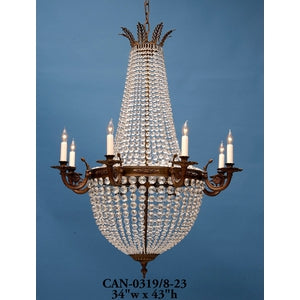 Chandeliers grahams lighting crystal chandelier can 03198 23 arubaitofo Choice Image