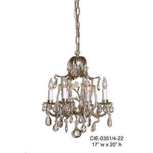 Crystal Chandelier - CIE-0351/4-22Chandelier - Graham's Lighting Memphis, TN