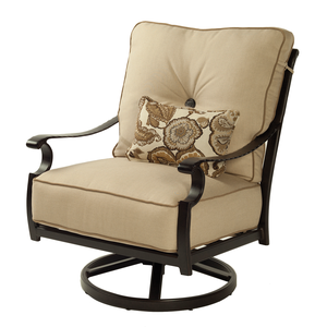 Monterey Cushioned Swivel Rocker