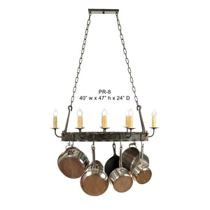 Other Metal Chandelier - PR8Chandelier - Graham's Lighting Memphis, TN
