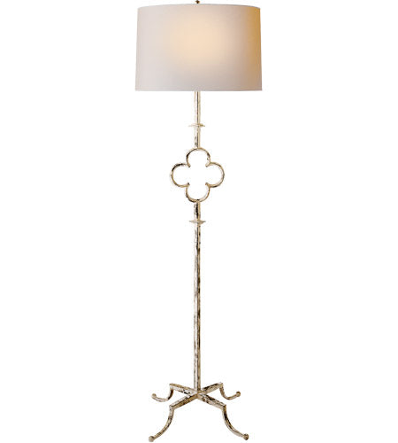 Belgian White Decorative Floor Lamp 22G-SK1500 BW-LLamp - Graham's Lighting Memphis, TN