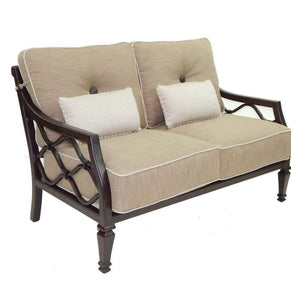 Villa Bianca City Cushioned LoveseatDeep Seating - Graham's Lighting Memphis, TN