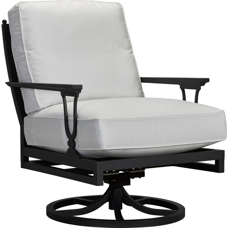 Winterthur Estate Swivel Rocker Lounge Chair - X Back