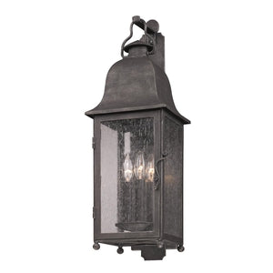 20N-B3212 - Larchmont 3 Light Outdoor Wall LightWall Mount - Graham's Lighting Memphis, TN