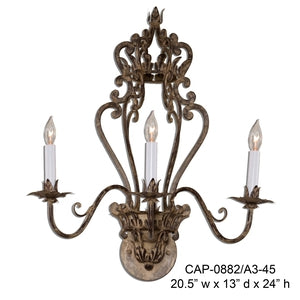 Other Metal Sconce - CAP-0882/A3-45Sconce - Graham's Lighting Memphis, TN
