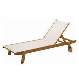 Clevedon Stacking Teak LoungerChaise Lounge - Graham's Lighting Memphis, TN