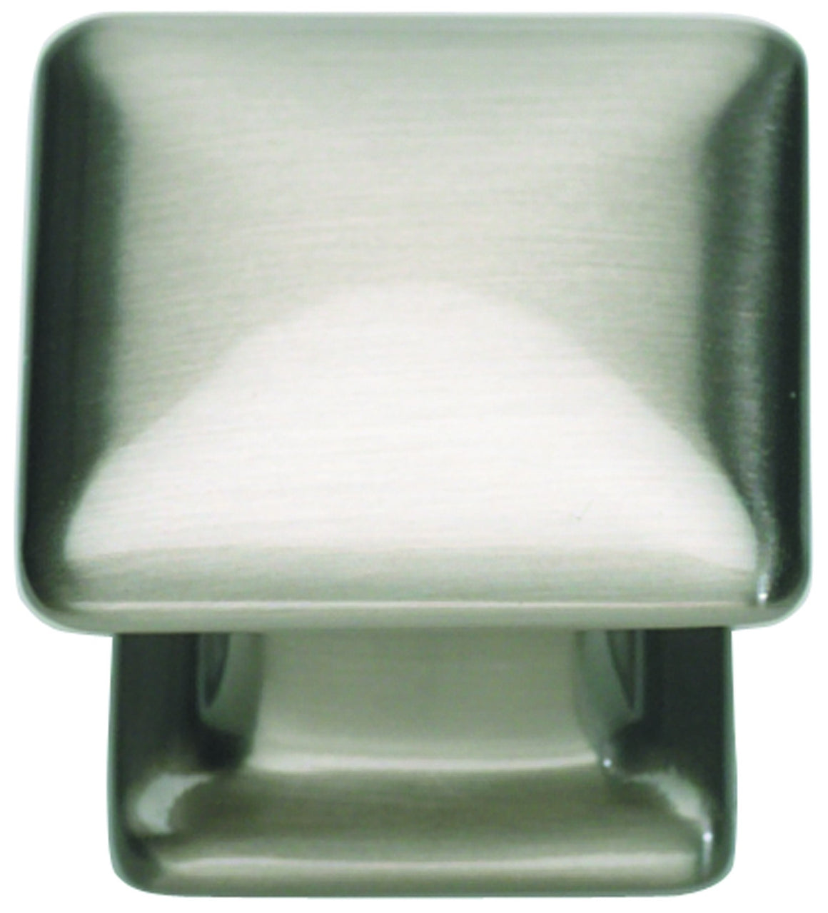 Alcott Square Knob 1 1/4 InchCabinet Hardware - Graham's Lighting Memphis, TN