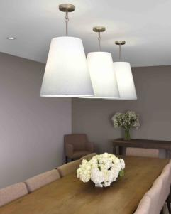 3 - LIGHT PENDANT 6L- F2958/3SNChandelier - Graham's Lighting Memphis, TN