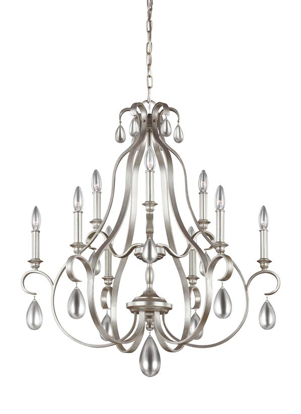 9 - LIGHT CHANDELIER 6L- F3071/9SRSChandelier - Graham's Lighting Memphis, TN