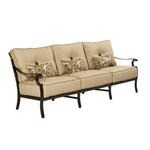 Monterey Cushioned SofaDeep Seating - Graham's Lighting Memphis, TN