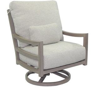 Roma Cushioned High Back Swivel RockerDeep Seating - Graham's Lighting Memphis, TN