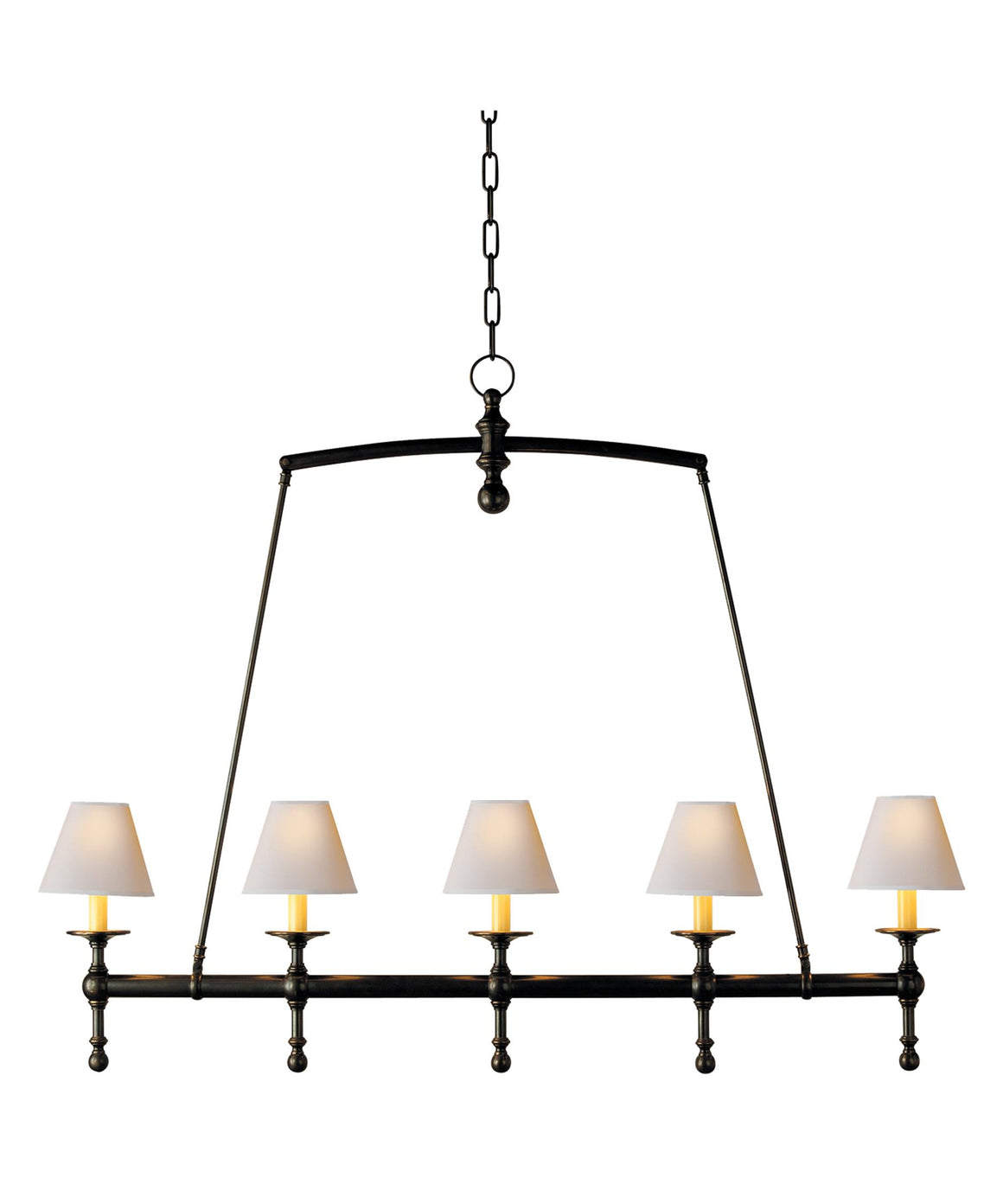 22g-SL5811 BZ-NPChandelier - Graham's Lighting Memphis, TN