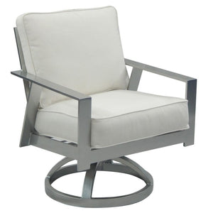Trento Cushioned Swivel RockerDeep Seating - Graham's Lighting Memphis, TN