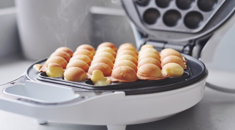 Make Hong Kong Style Egg Waffles at Home with the New Waffle Maker