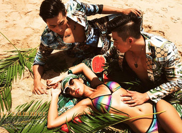 Behind the scene essential collection at Ho Coc Beach