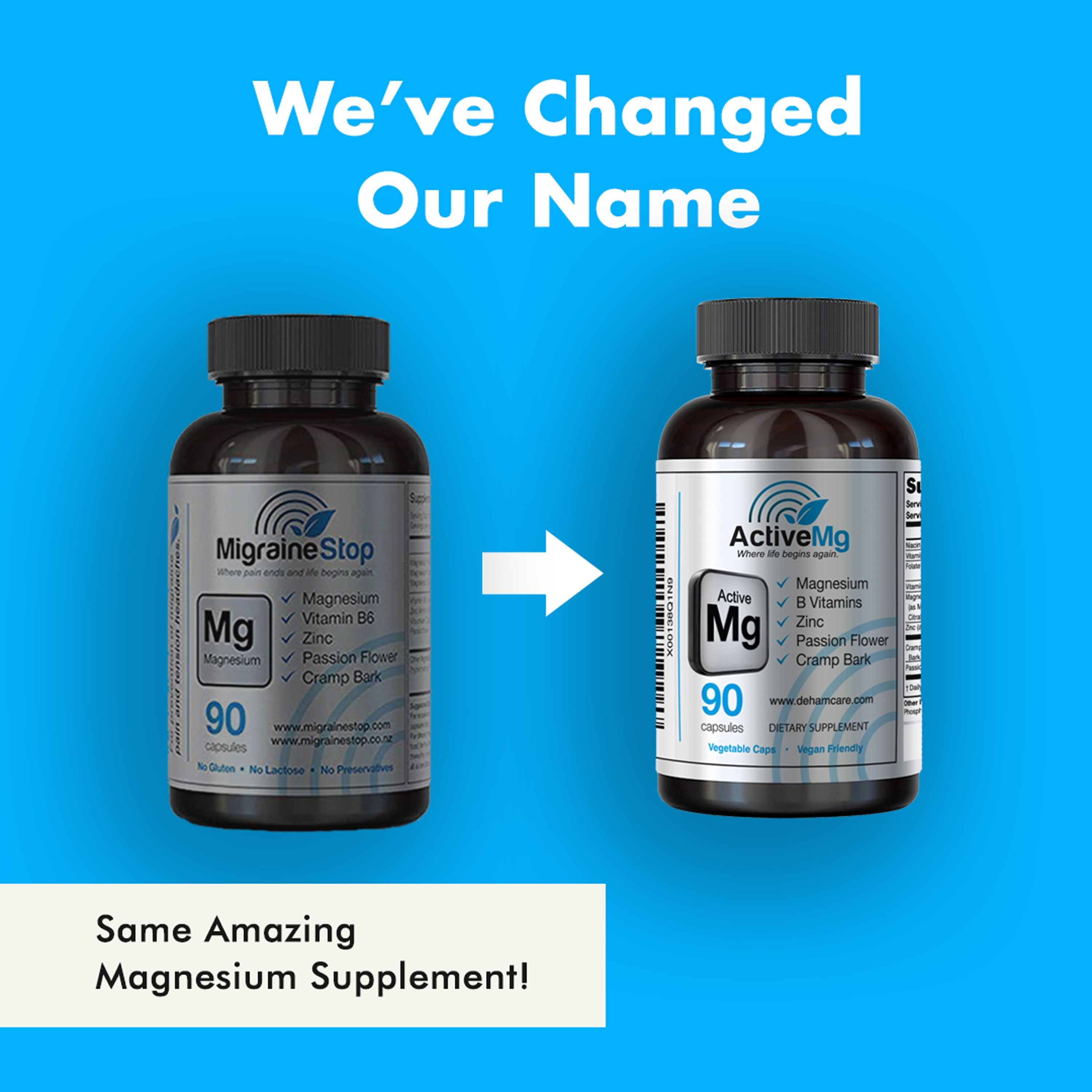 Active Mg - Magnesium Supplement | 6 Pack