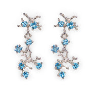 Reef Swiss Blue Topaz Earrings