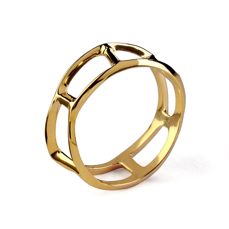Dandy Gold Wedding Band Ring