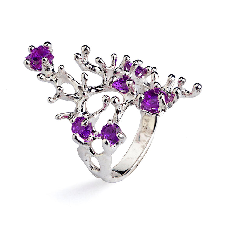 Reef Amethyst Ring