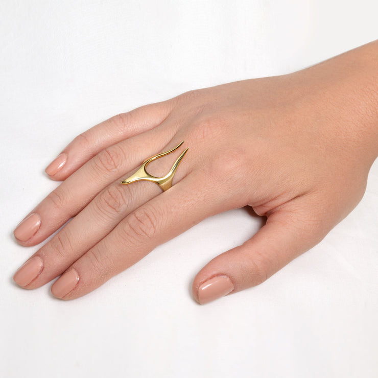 Anubis Rose Gold Ring