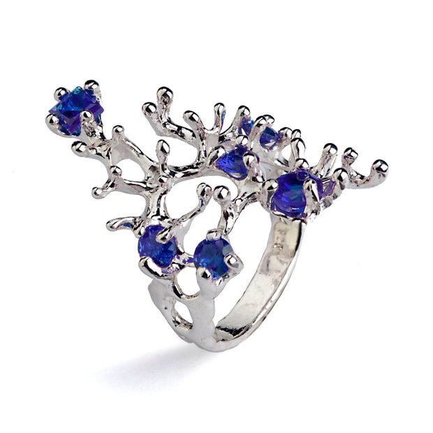 Reef Blue Sapphire Ring