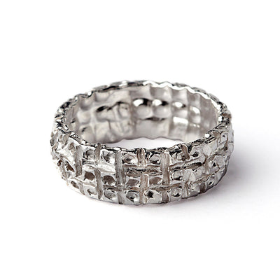 Honeycomb Ring Band