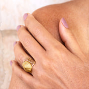 Medusa Gold Ring