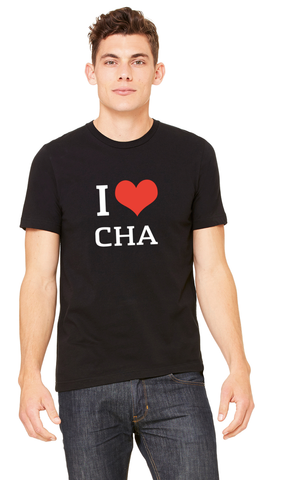 I Heart Chattanooga, Black - Unisex