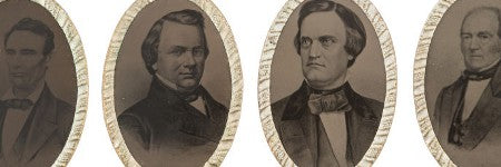 1860 election ferrotype buckles valued in excess of $15,000
