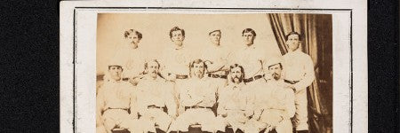 1869 Cincinatti Red Stockings card will lead Dallas sale