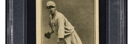 1916 Babe Ruth rookie card could beat $600,000