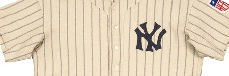 DiMaggio 1942 season jersey makes $169,500 at Goldin